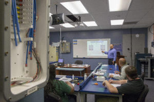 Optical fiber training classroom