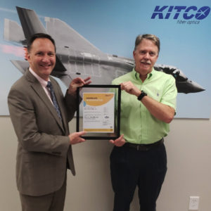 KITCO AS9100D and ISO 9001:2015 certified