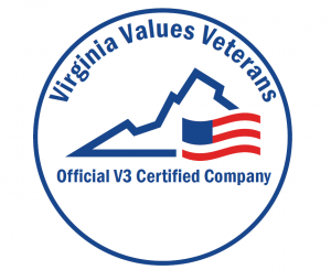 KITCO Careers - Virginia Values Veterans Logo